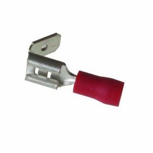 RED PIGGYBACK CONNECTOR 6.3MM - 50PK