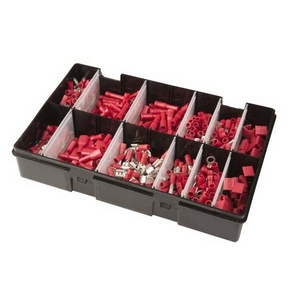 RED ASSORTED ELECTRICAL TERMINAL MULTIPACK