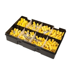 YELLOW ASSORTED ELECTRICAL TERMINAL MULTIPACK