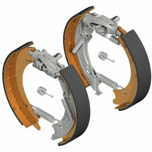 KNOTT 200 X 50 AUTO ADJUSTING BRAKE SHOE KIT (AXLE SET)