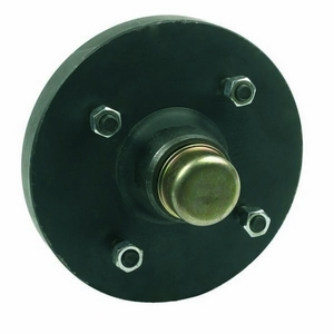 "PEAK 8"" UNBRAKED HUBS 4 STUD 5½"" PCD TO SUIT TEREX RBT C/W SFL BEARINGS AND EXTRA SEAL"