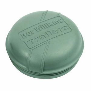 IFOR WILLIAMS TYPE 76.5MM GREY PLASTIC GREASE CAP