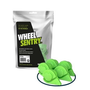 "27MM WHEEL SENTRY® KIT 5 STUD 61/2"" PCD C/W SAFE BAND - SET FOR 4 WHEELS"