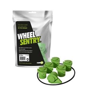 32MM WHEEL SENTRY® KIT 6 STUD 205MM PCD C/W SAFE BAND - SET FOR 4 WHEELS