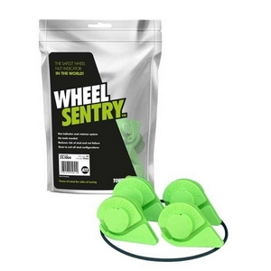 19MM WHEEL SENTRY® KIT 4 STUD 108MM PCD C/W SAFE BAND - SET OF 4