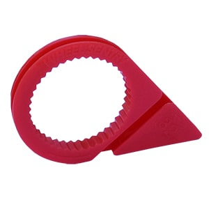 32MM LOW PROFILE WHEEL SENTRY® - RED