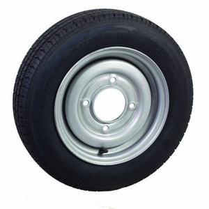 """155/70R12 4 STUD 5½"""" PCD W/T ASSEMBLY (30 OFFSET)"""