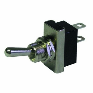 ON-OFF HEAVY DUTY DOUBLE POLE METAL SWITCH 25AMPS AT 12V DC (13MM PANEL HOLE)