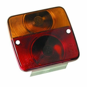 RADEX 3002 LENS TO SUIT SQUARE REAR COMBINATION LAMP - 27.0015