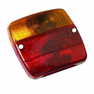 AJBA FP10 LENS FOR SQUARE REAR COMBINATION LAMP