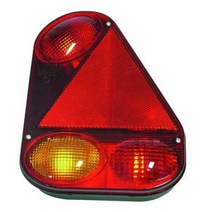 RADEX 2900 REAR COMBINATION LAMP WITH QUICK FIT CONNECTORS (L/H)
