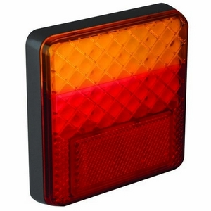 12/24V LED SQUARE REAR COMBINATION LAMP