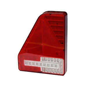 L/H 12/24V LED REAR COMBINATION LAMP C/W FOG AND QUICK FIT CONNECTOR