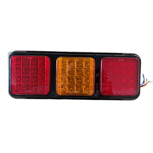 12V/24V LED REAR TRIPLE COMBINATION LAMP C/W FOG LAMP