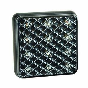 12/24V LED REAR COMBINATION LAMP - 80MM X 80MM