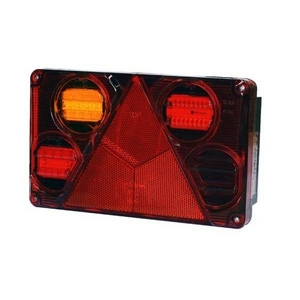 12/24 LED L/H REAR COMBINATION LAMP (6 FUNCTION)