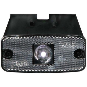 12/24V LED FRONT MARKER LAMP C/W BRACKET