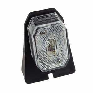 FRONT POSITION LAMP C/W BRACKET & 1MTR CABLE (LED VERSION OF 27.2040) - 12/24V