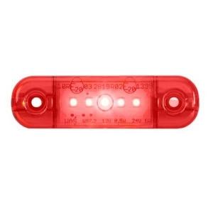12/24V LED SLIMLINE REAR MARKER LAMP