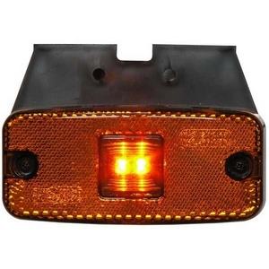 12/24V LED SIDE MARKER LAMP C/W BRACKET