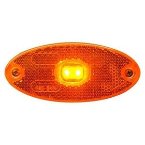 12/24V LED SIDE MARKER LAMP - OVAL