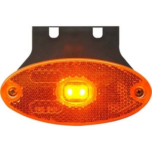 12/24V LED SIDE MARKER LAMP C/W BRACKET