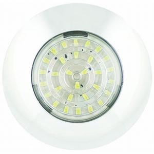 12/24V LED ROUND INTERIOR LAMP (75MM DIA)