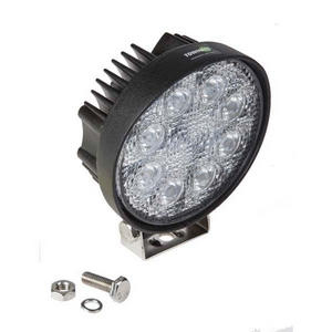 12/24V LED ROUND WORKLAMP C/W MOUNTING BRACKET