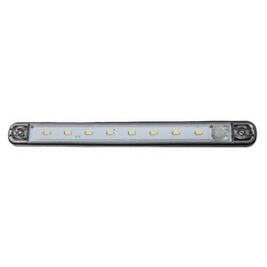 12V LED INTERIOR STRIP LAMP WITH PIR SENSOR (8 LEDS)