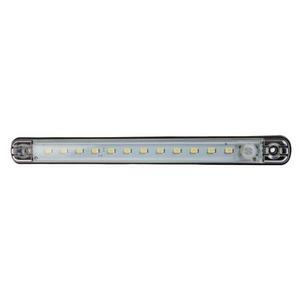 12V LED INTERIOR STRIP LAMP WITH PIR SENSOR (12 LEDS)