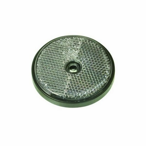 ROUND SELF ADHESIVE CLEAR REFLECTOR