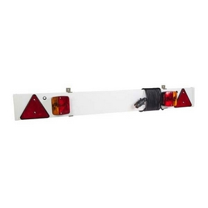 4' LIGHT BOARD C/W 6M CABLE AND NUMBER PLATE CLIPS