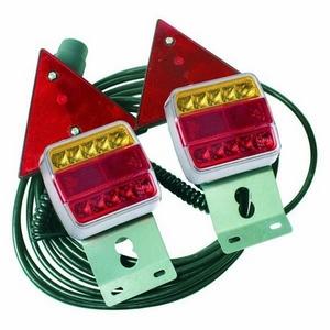 12/24V LED 6' MAGNETIC LIGHT SET C/W TRIANGLES & 6M CABLE