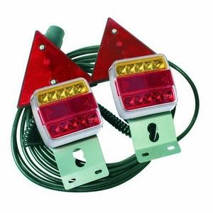 12/24V LED 10' MAGNETIC LIGHT SET C/W TRIANGLES & 10M CABLE