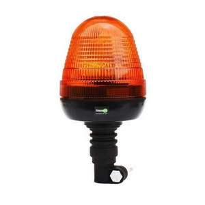 FLEXI POLE MOUNT ROTATING BEACON C/W 12V & 24V BULB