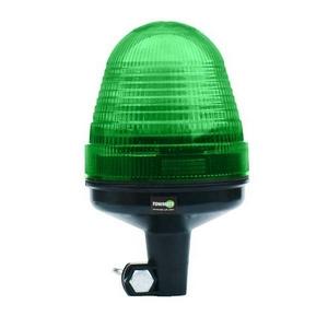 12/24V LED POLE MOUNT BEACON C/W GREEN LENS