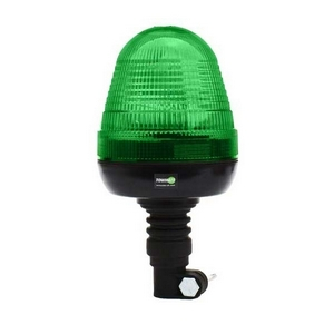 12/24V FLEXI MOUNT LED BEACON C/W GREEN LENS