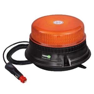 12/24 VOLT R65 LED MAGNETIC/3-BOLT LOW PROFILE BEACON