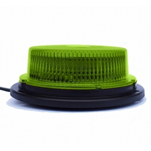 12/24V LED MAGNETIC/3-BOLT LOW PROFILE BEACON C/W GREEN LENS