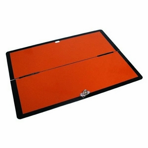ADR FOLDING REFLECTIVE HAZCHEM BOARD - HORIZONTAL (400MM X 300MM)