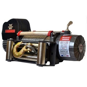 9500LB 12V SAMURAI WINCH C/W WIRELESS REMOTE