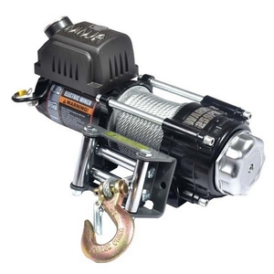 2500LB NINJA 12V ELECTRIC WINCH AND STEEL CABLE