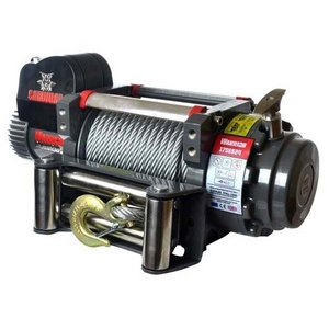 S17500LB 24V SAMURAI ELECTRIC WINCH WITH STEEL CABLE
