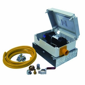 110V ON-DEMAND PUMP KIT C/W HOSE & PIPE FITTINGS
