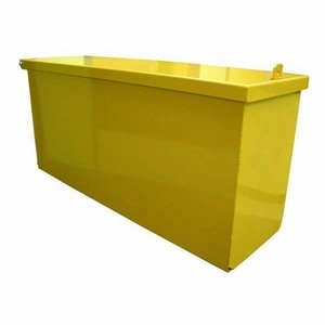 SDR METAL TOOL BOX 830 X 250 X 360MM HIGH - BASE 780 x 235MM