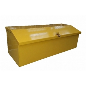 SDR METAL TOOL BOX (NEW STYLE) 750 X 300 X 255MM HIGH (BACK) 205MM (FRONT)  BASE 740 x 270MM