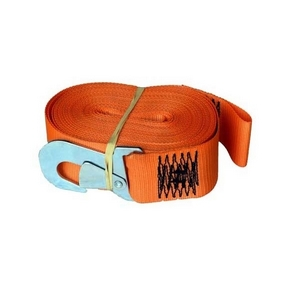 WINCH STRAP AND SAFTEY HOOK 60MM X 12M -  2000KG CAPACITY