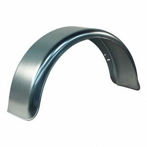 "SINGLE GALVANISED ROUND MUDGUARD TO SUIT 14"" WHEEL"