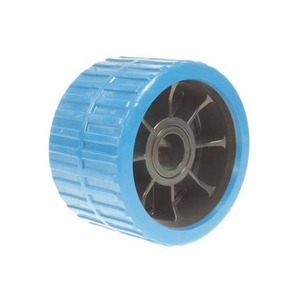 RIBBED ROLLER - NON-MARKING 120X74X21MM