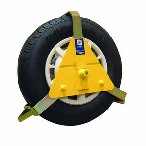 "10"" - 14"" STRONGHOLD WHEEL CLAMP - INSURANCE APPROVED (FITS TYRE SIZES 140-208MM)"